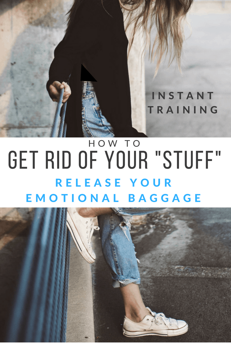 get rid of my baggage