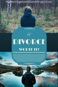 Is divorce worth it? Falling out of love? Avoid divorce with a marriage retreat.