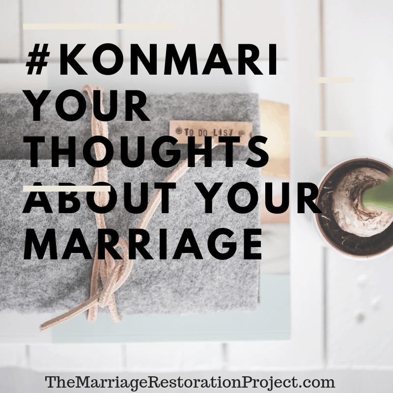 konmari your marriage