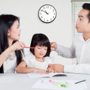 do kids hear when parents argue and fight